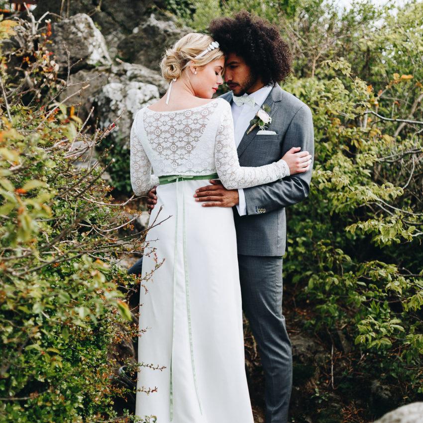 Josephine – Brautkleid im Vintage- und Boho Stil