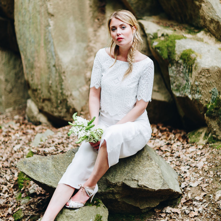 Louise – Hosenanzug für die Hochzeit