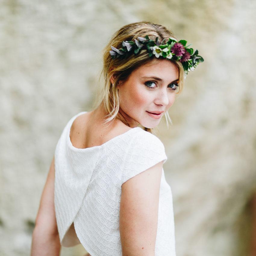 Maeli – Brautkleid mit Tüllrock und Braut Bluse