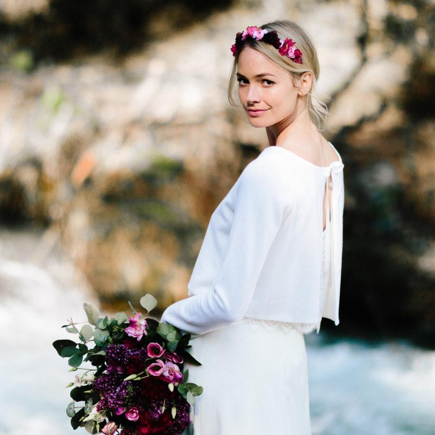 Ruby Brautjacke – Brautjacke Ivory. Schlicht und modern