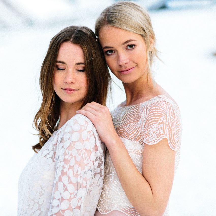 April & Ivy – Brautkleider in Rosa, Blush und Nude