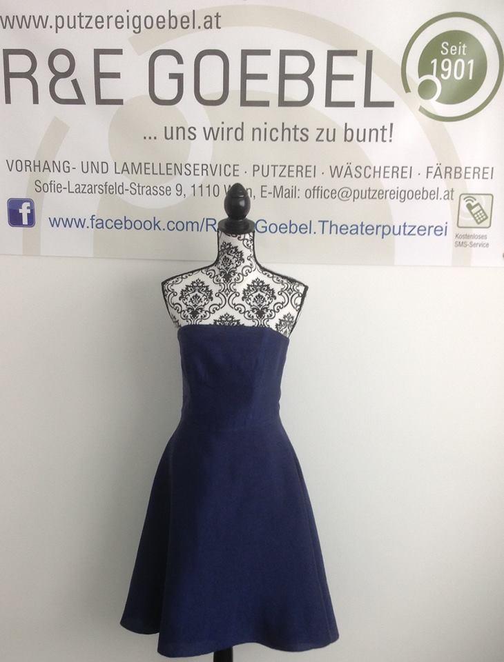 noni_Brautkleid nach der Hochzeit eingefärbt, von einer professionellen Färberei