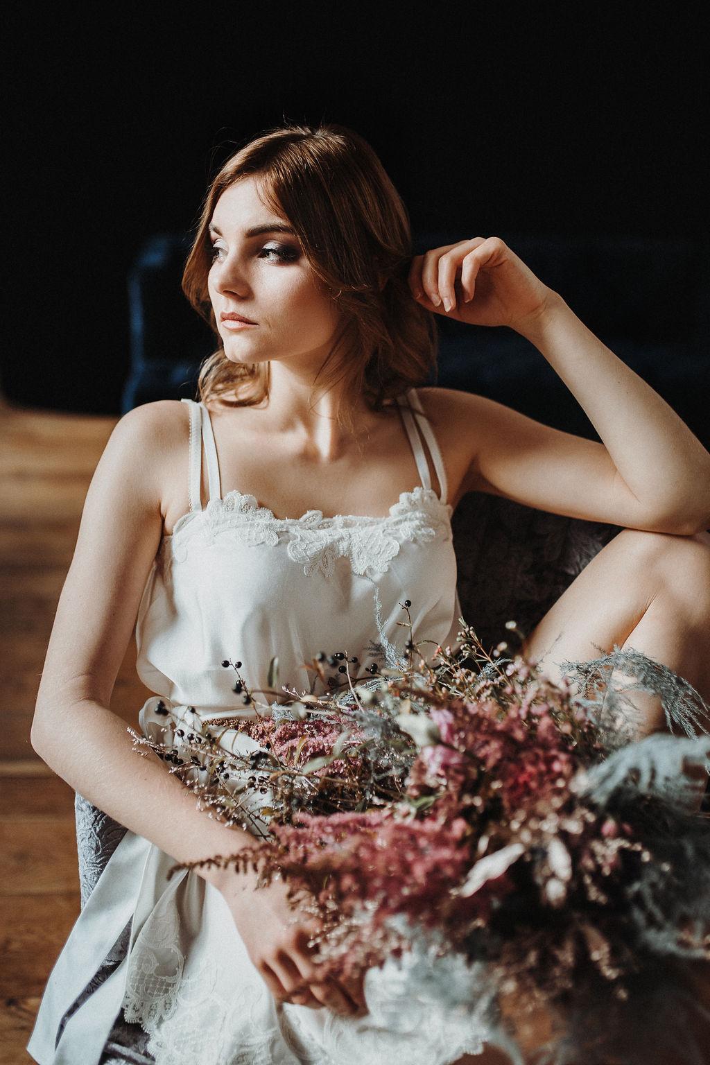 Getting Ready mit Bridal Robe