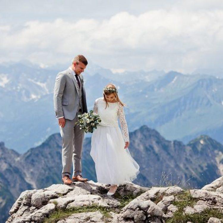 Boho Hochzeit in den Bergen