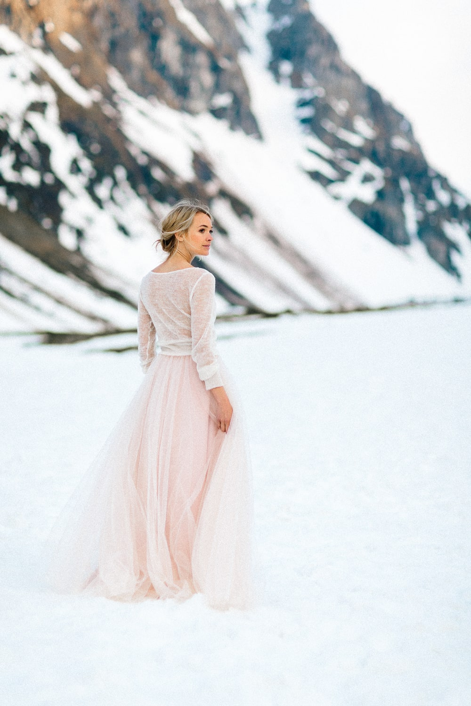Braut Pullover Strick, in Natur Creme