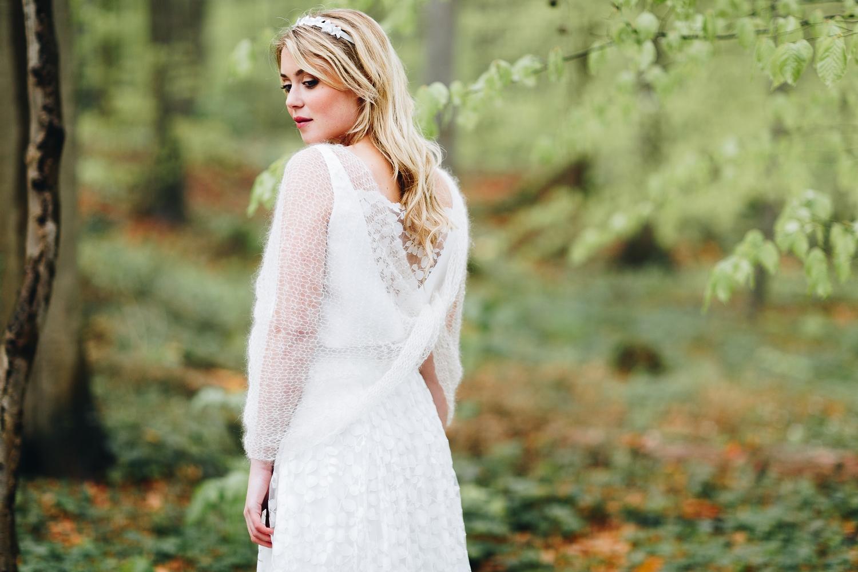 noni noni Brautkleider 2018 | Braut Schal, Strick, Ivory, zum schlichten Brautkleid