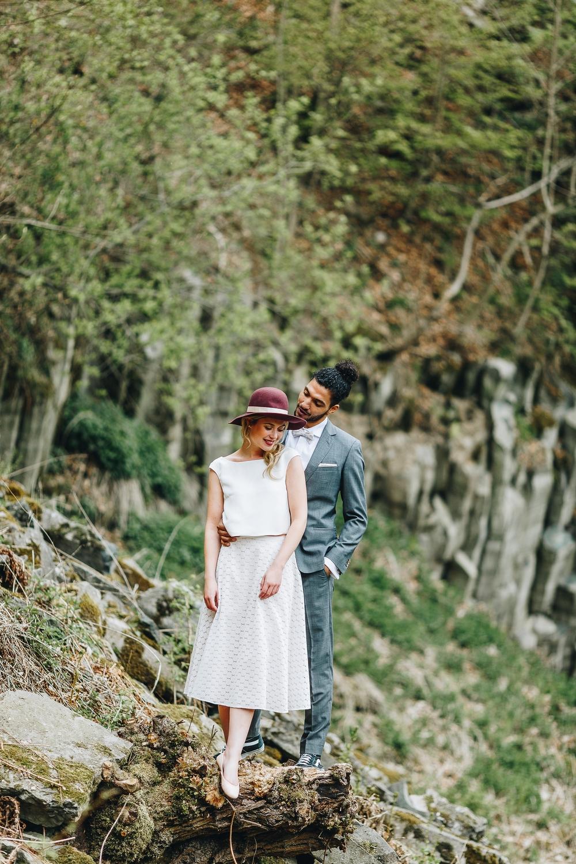 noni Brautkleider 2018 - jetzt entdecken! | Brautkleid kurz, im Boho Stil (Foto: Le Hai Linh)