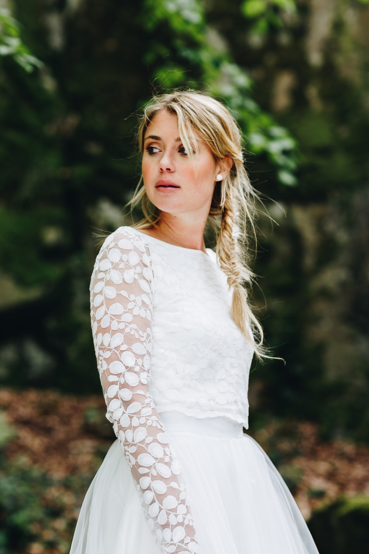 noni Brautkleider 2018 - jetzt entdecken! | Brautkleid schlicht, mit Ärmel und Spitze