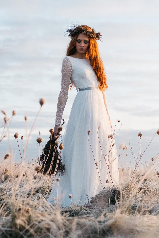 Brautkleider mit Tüllrock