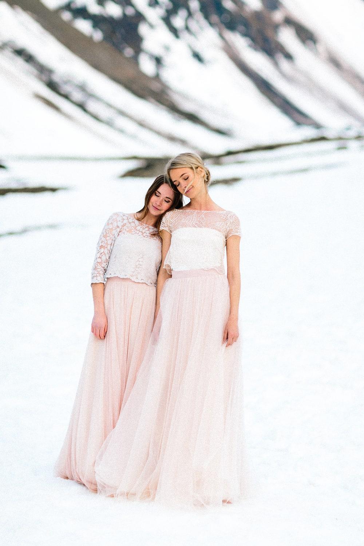 noni Brautkleider 2019 | Brautkleider in Rosa, Blush und Nude (Foto: Le Hai Linh)