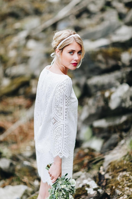 Brautkleider Stile und Schnitte, Brautkleider Hippie Stil (Foto: Le Hai Linh)