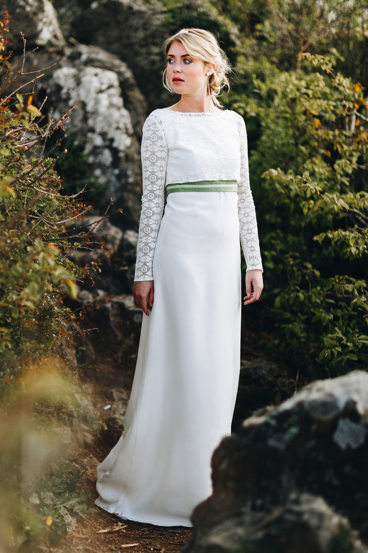 Brautkleider Stile und Schnitte, Brautkleider mit Schleppe