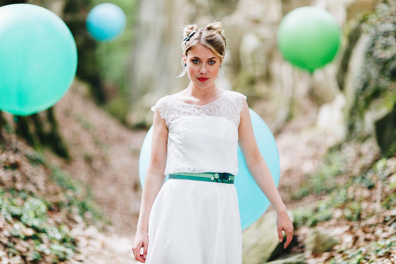 Brautkleider Stile und Schnitte, Brautkleider  schulterfrei (Foto: Le Hai Linh)