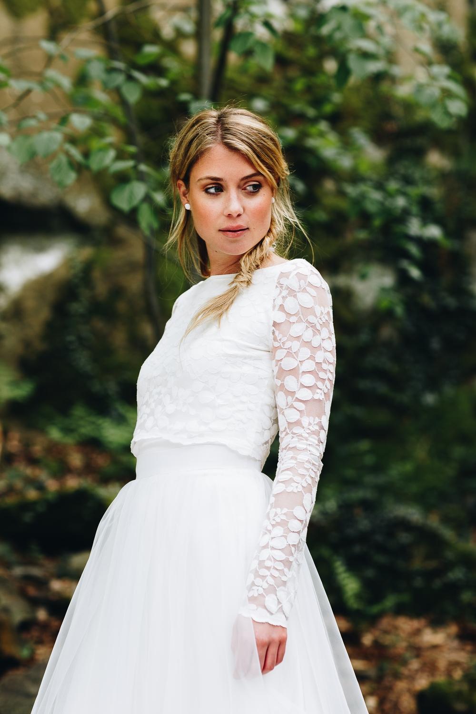 Brautkleider Stile und Schnitte, Brautkleider wadenlang
