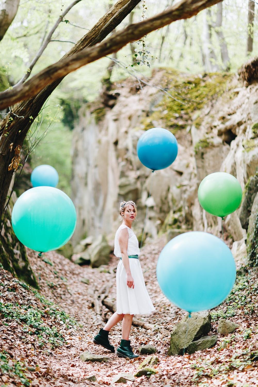 Brautkleider Stile und Schnitte, Brautkleider kurz (Foto: Le Hai Linh)