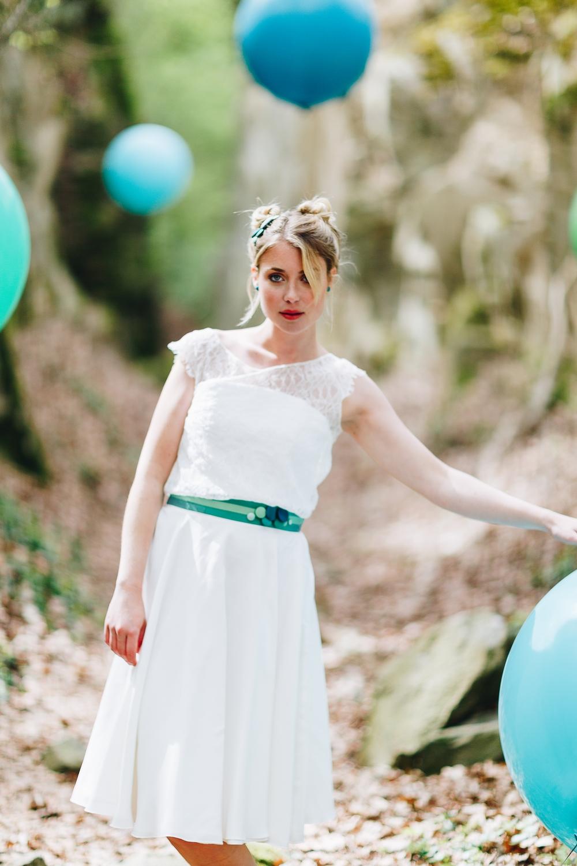 Brautkleider Stile und Schnitte, Brautkleider kurz