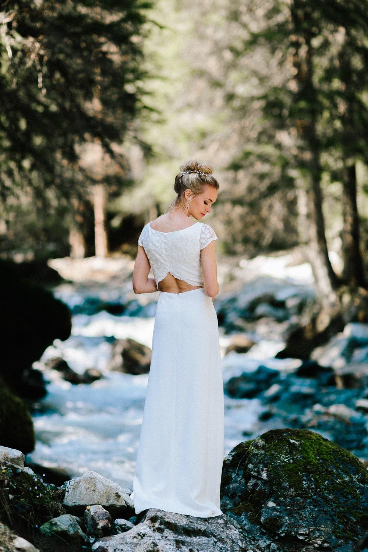 Brautkleider Stile und Schnitte fuer die Hochzeit (Foto: Le Hai Linh)