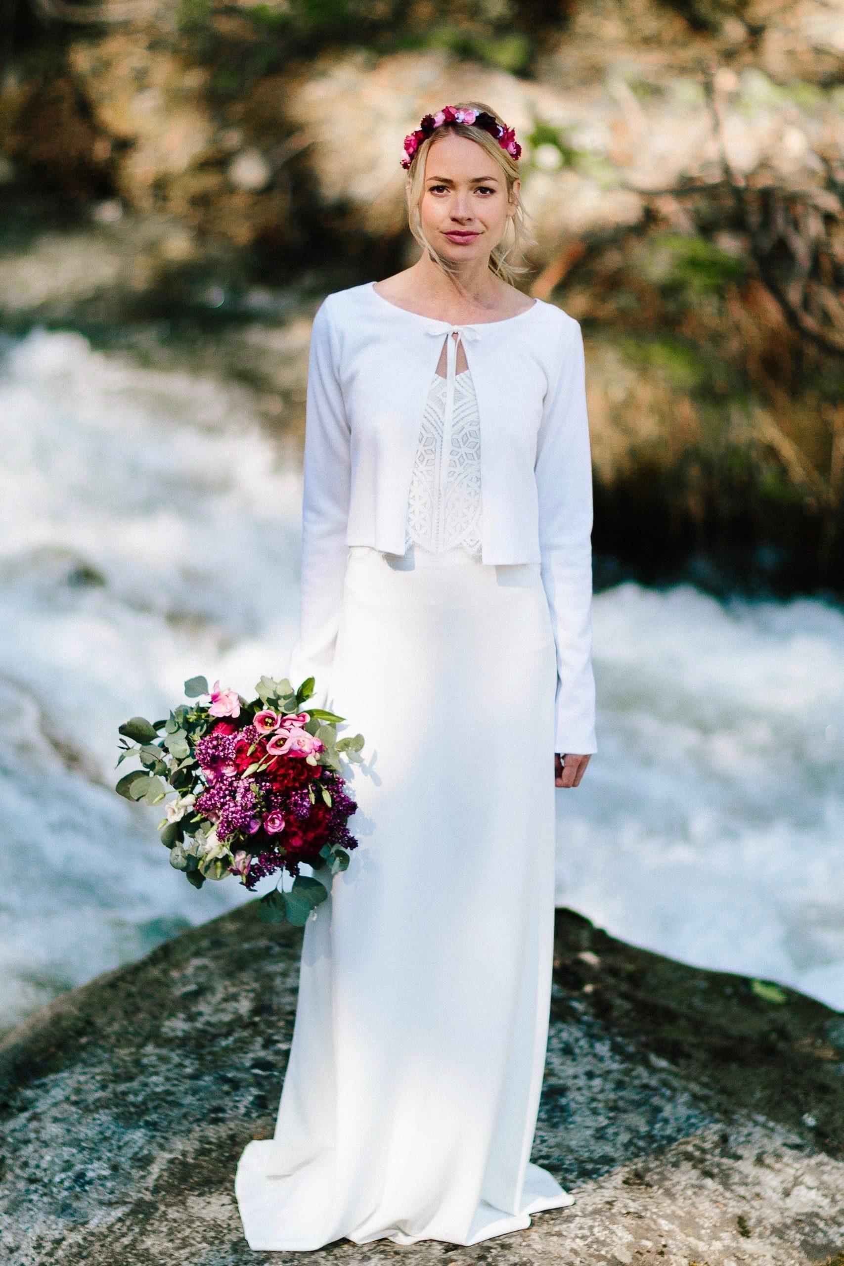Brautkleider für die Hochzeit im Herbst oder Winter  noni Dekor
