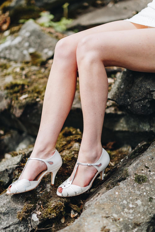 Brautschuhe Rachel Simpson Shoes, Mimosa Ivory