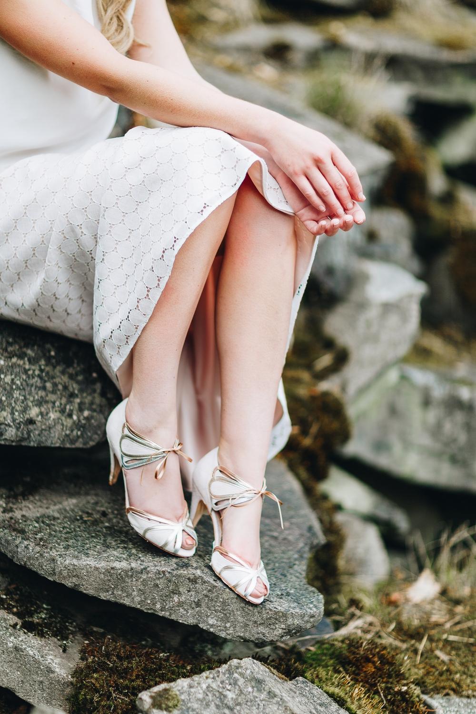 noni Brautkleider 2018 - jetzt entdecken! | Brautschuhe Rachel Simpson Shoes, Ophelia (Foto: Le Hai Linh)