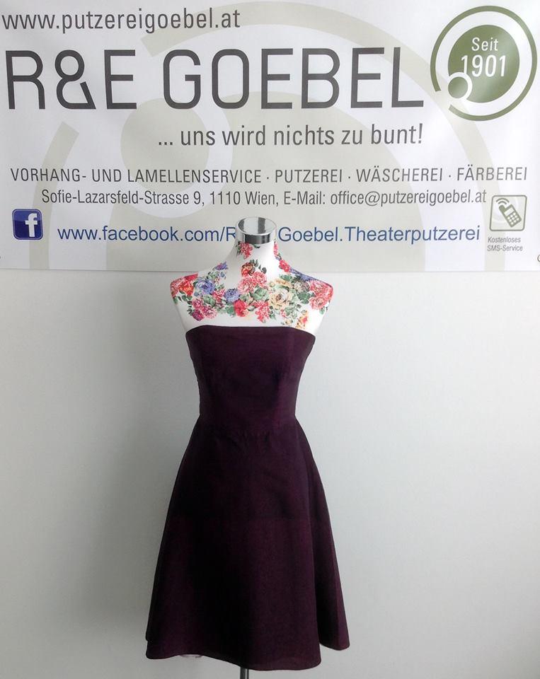 Die nachhaltigen Brautkleider von noni können nach der Hochzeit eingefärbt werden