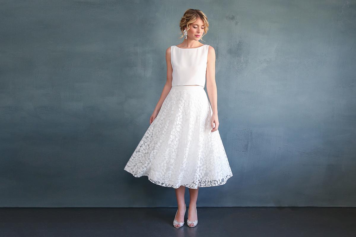 Standesamtkleid – Kurzes Brautkleid oder Zweiteiler?  noni