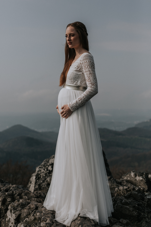 Brautkleider für Schwangere  noni