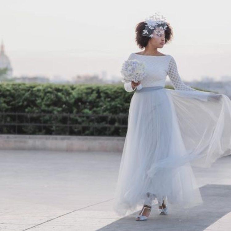 Inspiration für Fine Art-Hochzeit in Paris