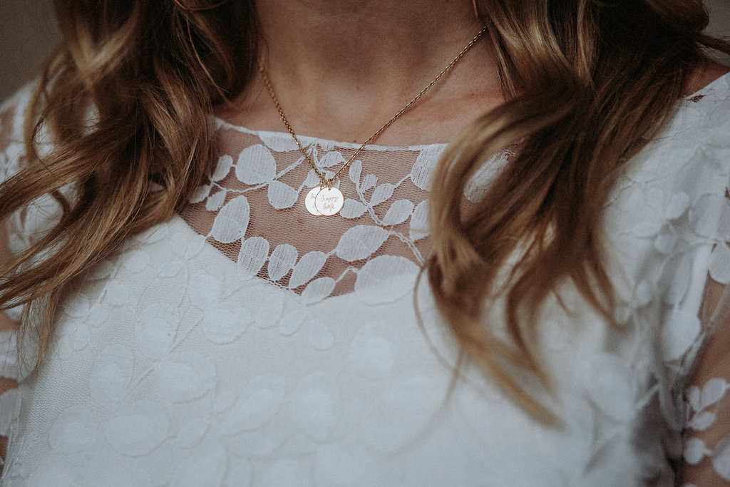 Brautkette mit Anhänger