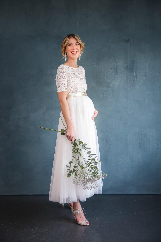 Brautkleider für Schwangere - noni Baby