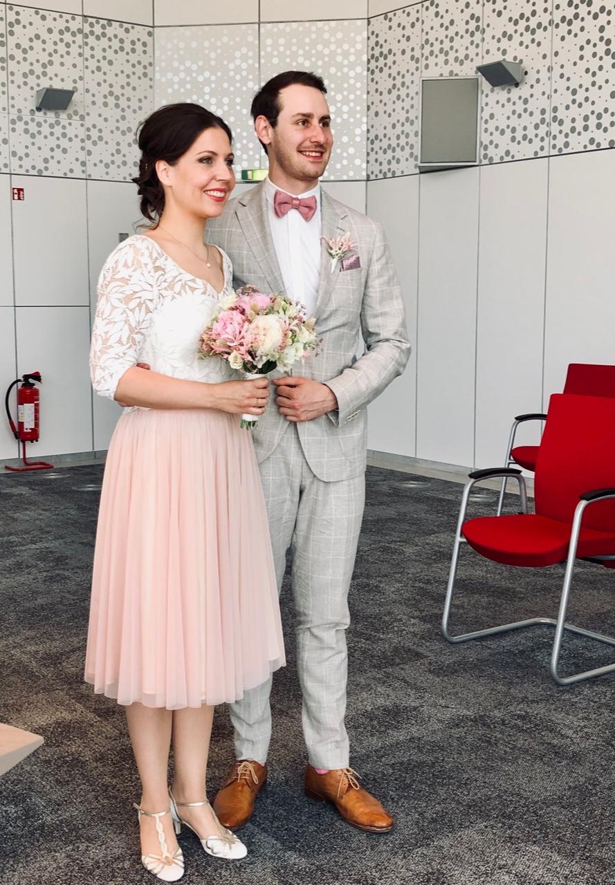 Brautpaar Ganzkörper