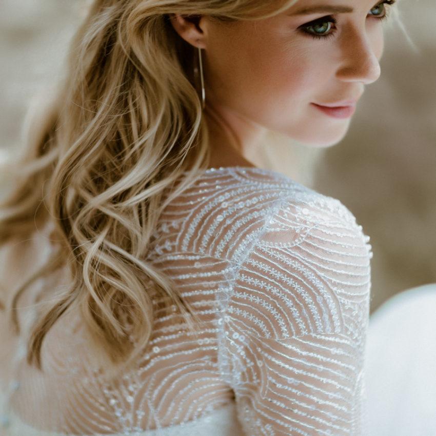 Nelda – Brautkleid-Mehrteiler mit Paillettentop