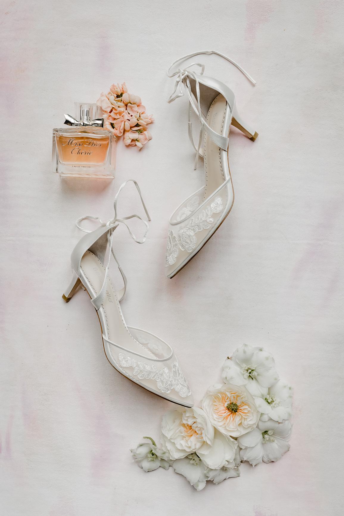 Brautschuhe mit Parfum